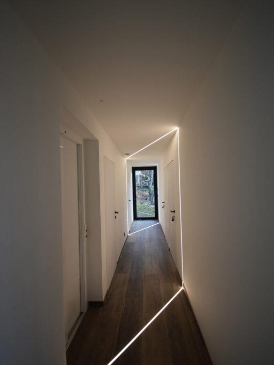 Couloir - Le Bouquet d'Arbres